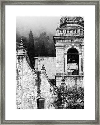 Taormina Church Detail Framed Print
