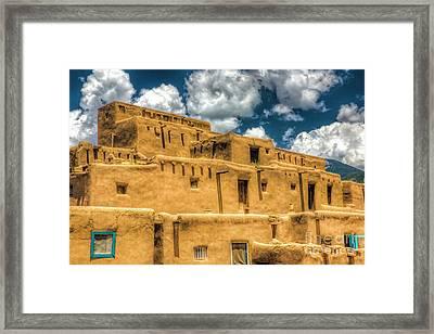 Taos Pueblo, New Mexico 2 Framed Print