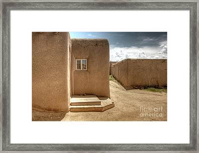 Taos Pueblo, New Mexico 3 Framed Print