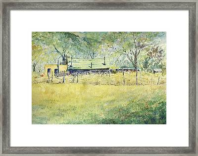 Taos Ranch Framed Print