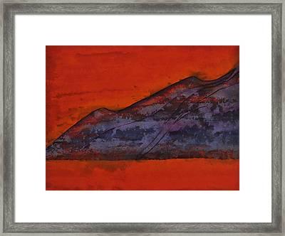 Taosesque Original Painting Framed Print