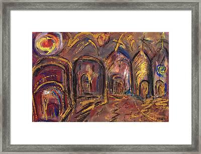Taos's Spirit Framed Print