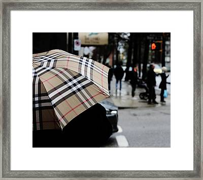 Framed Print featuring the photograph Tap Me On The Shoulder  by Empty Wall