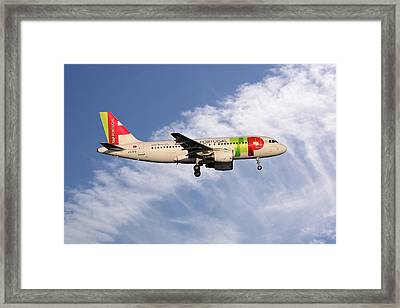 Tap Portugal Airbus A319-111 Framed Print