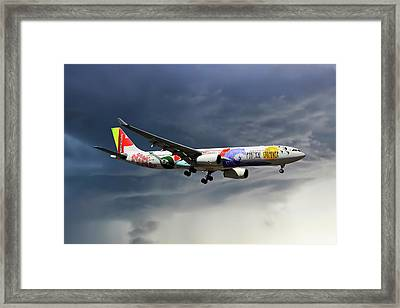 Tap Portugal Airbus A330-343 Framed Print