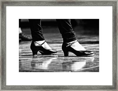 Tap Shoes Framed Print by Lauri Novak