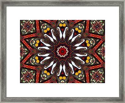 Tapestry Framed Print by Natalie Holland