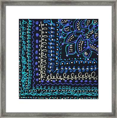 Tapestry Framed Print by Carole Brecht