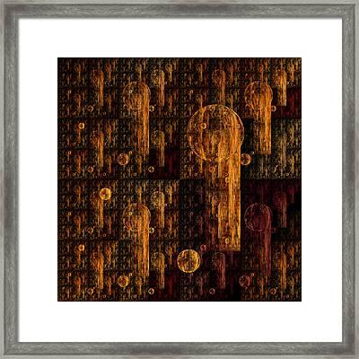 Tapestry Framed Print