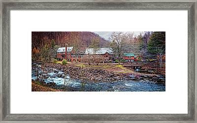 Tapoco Lodge Framed Print