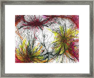 Tapping In To The Energy Fields Of Life #642 Framed Print