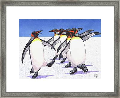 Tappity Tap Framed Print by Catherine G McElroy