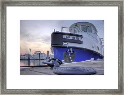 Tar Heelia Sunrise Framed Print by Dustin K Ryan
