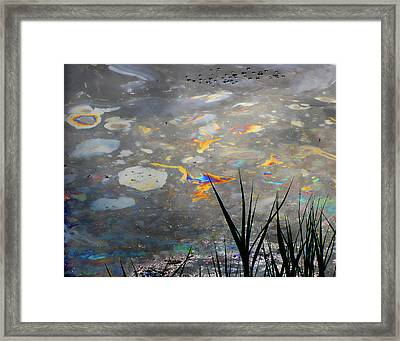 Tar Pit's Beauty I Framed Print