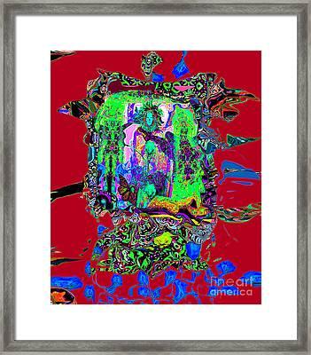 Tara Tangka Tibetan Framed Print by Rayofra Ra