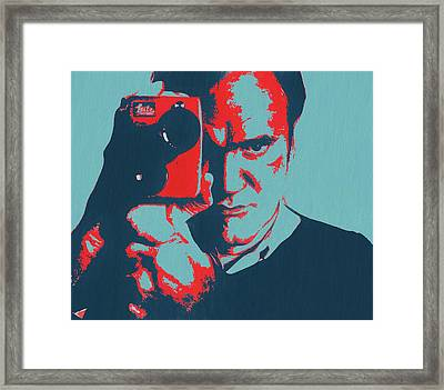 Tarantino Pop Art Framed Print by Dan Sproul