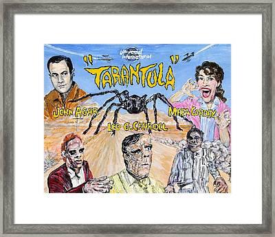 Tarantula - 1955 Lobby Card That Never Was Framed Print