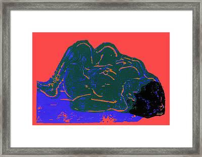 Tarbaby 2 Framed Print by Adam Kissel