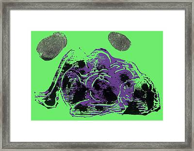 Tarbaby 3 Framed Print