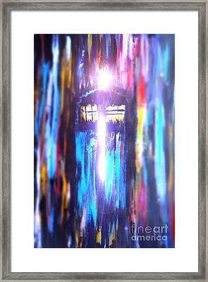 Tardis 2 Framed Print