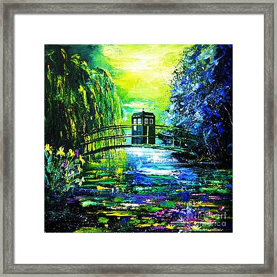 Tardis Art Framed Print by Edi Suniarto