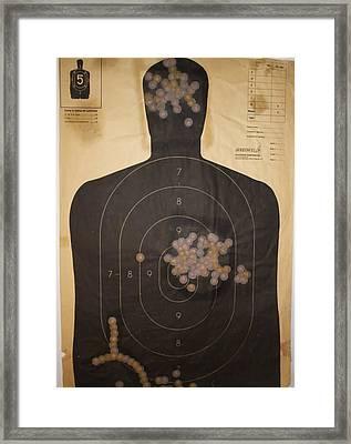 Target 2 Framed Print