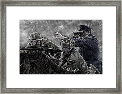 Target Ahead Framed Print by Mark H Roberts