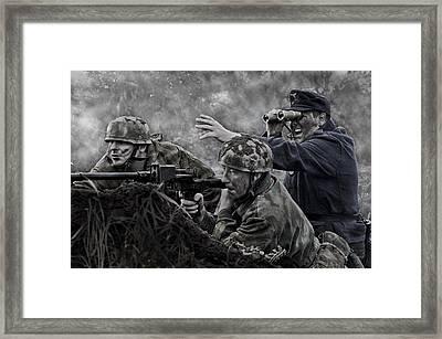 Target Ahead Framed Print