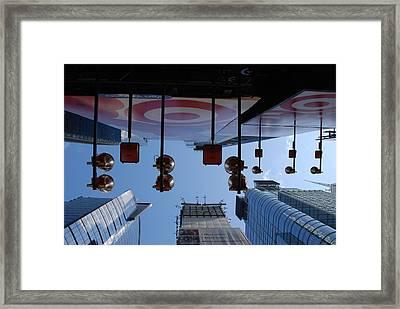 Target Lights Framed Print by Rob Hans