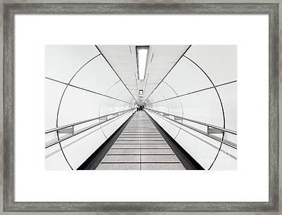 Target Lines Framed Print by Svetlana Sewell