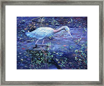 Targeted Ad Impetum Framed Print