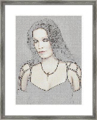 Framed Print featuring the digital art Tarja 18 by Marko Sabotin
