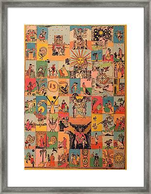 Tarocchi Framed Print by Biagio Civale
