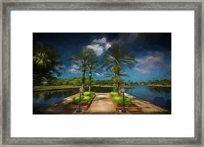 Tarpon Bayou Framed Print