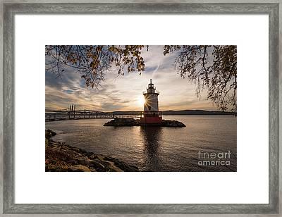 Tarrytown Lighthouse Framed Print