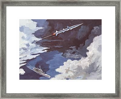Tartar Surface To Air Missile Framed Print