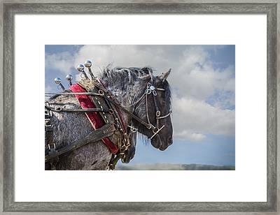 Task At Hand Framed Print by Joe Hudspeth