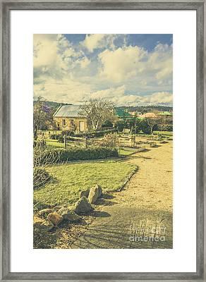 Tasmania Garden Details Framed Print by Jorgo Photography - Wall Art Gallery
