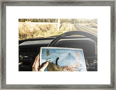 Tasmania Road Trip Framed Print by Jorgo Photography - Wall Art Gallery
