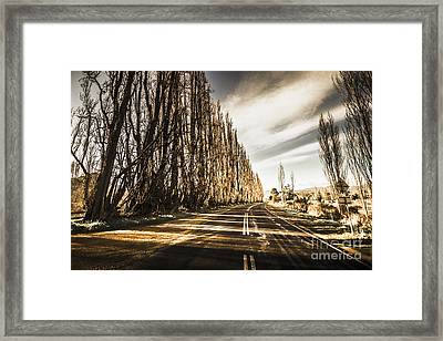 Tasmania Scenic Drive Framed Print by Jorgo Photography - Wall Art Gallery
