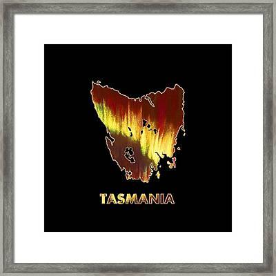 Tasmania - Southern Lights - Aurora Hunters Framed Print