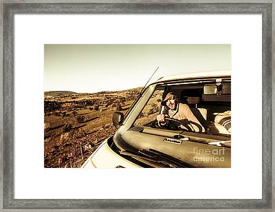 Tasmania Travel Tour Framed Print by Jorgo Photography - Wall Art Gallery