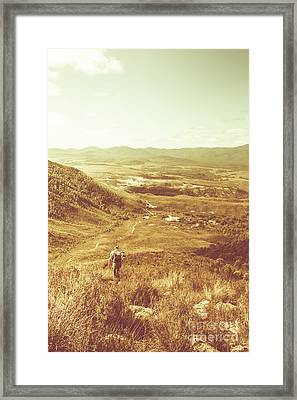 Tasmania Wonder Framed Print