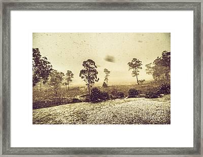 Tasmanian Blizzard Framed Print