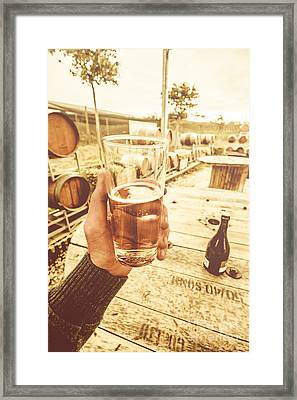 Tasmanian Ciders Framed Print by Jorgo Photography - Wall Art Gallery