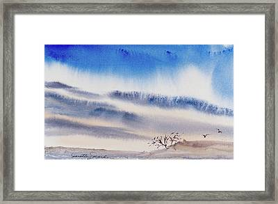 Tasmanian Skies Never Cease To Amaze And Delight. Framed Print