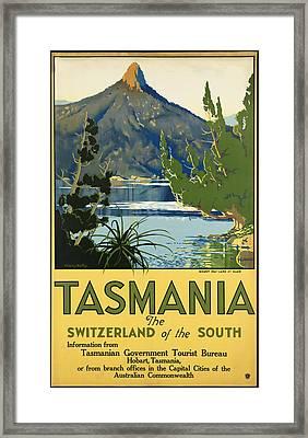 Tasmania_switzerland Of The South Framed Print