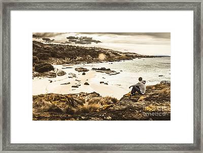 Tassie Adventurer Framed Print