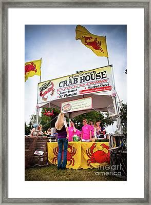 Taste Of Charleston Framed Print