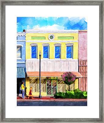 Taste Of Home - Josie's Restaurant Framed Print